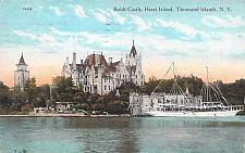 Buy Boldt Castle, Heart Island, Thousand Islands, NY, Castle, Boat Vintage Postcard