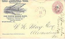 Buy U59 Used Circa 1868 Tiffin OH Agricultural Works,Advertising Corner Fancy Cancel