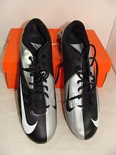 Buy NEW NIKE MEN'S VAPOR PRO LOW TD 511340 FOOTBALL CLEATS SZ 14 SILVER & BLACK NIB