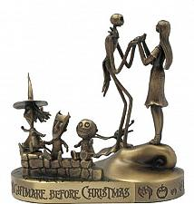 Buy Tim Burton Nightmare Be4 Christmas Jack, Sally, Lock. Shock, Barrel Bronze