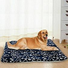 Buy Pet Washable Home Blanket Large Dog Bed Cushion Mattress Kennel Soft Crate Mat
