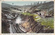 Buy Raton Tunnel, Highest Point on the Santa Fe Railroad Vintage Postcard