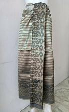 Buy Thai Tradition Gray Synthetic Silk Fabric For Top Skirt Wedding Dancing dress