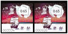 Buy BULGARIA 2019 GREAT EXPLORERS Robert Falkon Scott - 2 souvenir sheets
