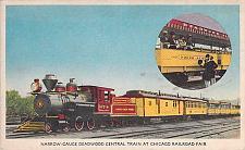 Buy Narrow Gauge Deadwood Central Train Chicago Railroad Fair Postcard