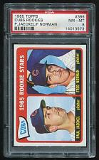 Buy 1965 TOPPS CUBS ROOKIES PAUL JAECKEL FRED NORMAN #386, PSA 8 NM-MT (14013573)