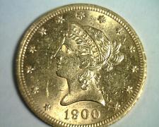 Buy 1900 TEN DOLLAR LIBERTY GOLD UNCIRCULATED+ UNC.+ NICE ORIGINAL COIN BOBS COINS