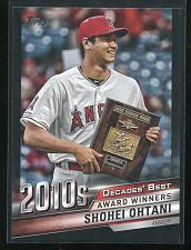 Buy 2020 TOPPS DECADES BEST BLACK SHOHEI OHTANI, DB-92, 77/299