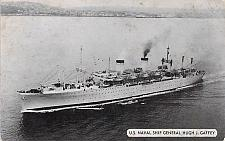 Buy U.S. Navy Ship General Hugh J. Gaffey WW II Transport Used Postcard