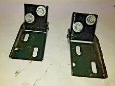 Buy ALFA ROMEO SPIDER HOOD HINGE PAIR SET painted black NO RUST (#1)