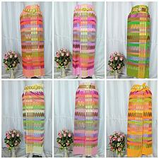 Buy Myanmar Traditional Design Fashion Fabric for Clothing Dress Long longyi Skirt