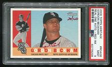 Buy 2009 TOPPS HERITAGE REAL ONE RED AUTO GORDON BECKHAM PSA 9 MINT (40778208)