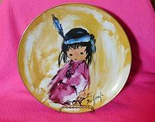 "Buy 1987 Collector's Limited Edition De Grazia ""Love Me"" 10 inch Plate 1644/15,000"