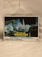 Buy Trading Card Battlestar Galactica #16 Doomsday on Caprica 1978