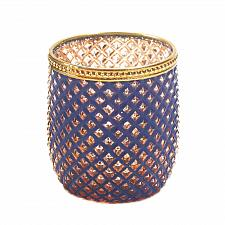 Buy *16799U - Dominion Diamond Cut Purple Glass Votive Candle Holder