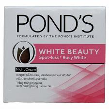 Buy Pond's White Beauty Spotless Rosy Whitening Night Cream 50 grams