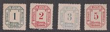 Buy Bochum German Private Post Verkehr, Mi A15-A18, MNG As Issued