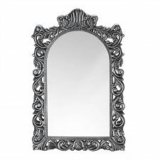 Buy *18870U - Grand Silver Baroque Style Arched Top Wall Mirror