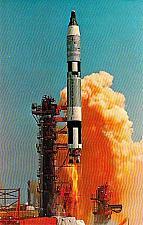 Buy Kennedy Space Center Gemini Titan 4 Unused Vintage Postcard