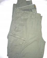 Buy Lucky Brand Women's Size 18/34 Olive Green Slim Leg Cargo Pants
