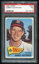 Buy 1965 TOPPS AUBREY GATEWOOD #422, PSA 7 NM (23113018)