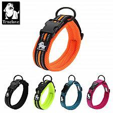 Buy Truelove Adjustable Mesh Padded Pet Dog Collar 3M Reflective Nylon Dog Collar