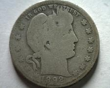 Buy 1892-O BARBER QUARTER DOLLAR GOOD G NICE ORIGINAL COIN FROM BOBS COINS FAST SHIP