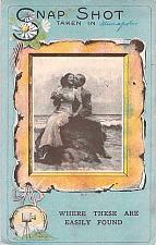 Buy Snap Shot Taken In Minneapolis, Romantic Couple Vintage Postcard