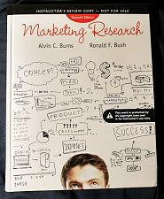 Buy (New) Marketing Research 7th INSTRUCTOR'S REVIEW CPY Hardcover, Burns, Bush