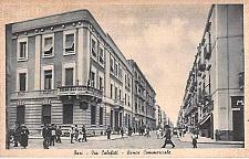 Buy Bari Via Calefati Banca Commerciale Italy Unused Vintage Postcard