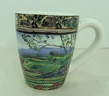 Buy Sakura Tuscan Travels by Sarina Farm on Hill Scene Earthenware Mug 16 Oz