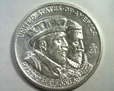 Buy 1924 HUGUENOT COMMEMORATIVE CHOICE ABOUT UNCIRCULATED++ CH. AU++ NICE COIN