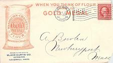 Buy 1910 Haverhill, Mass. Gold Medal Flour Distributor Illustrated Advertising Cover