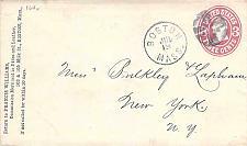 Buy Boston Fancy Cancel U58 Cover Circa 1867
