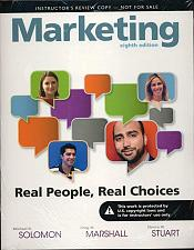 Buy Marketing: Real People, Real Choices 8th - INSTRUCTOR'S EDITION eighth shrinkwra