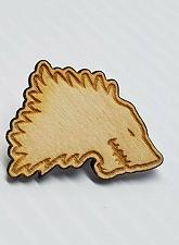 Buy Laser Engraved GOT Game of Thrones House of Stark Hat Pin
