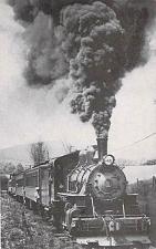 Buy Bath & Hammondsport Railroad No. 11 Steam Engine Vintage Postcard