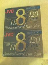 Buy JVC Hi8 METAL 120 HMP 8 MM VIDEO CASSETTE
