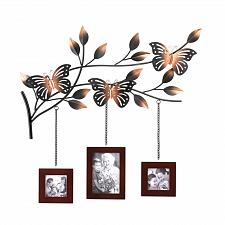 Buy *15473U - Butterfly Metal Sculpture Photo Frame Wall Plaque