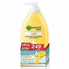 Buy Garnier Light Skin Whitening Moisturizing Milk Body Lotion 400ml Pack of 2