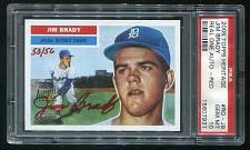 Buy 2005 TOPPS HERITAGE REAL ONE RED AUTO JIM BRADY PSA 10 GEM MINT (15607931)