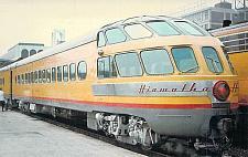 Buy Hiawatha Milwaukee Road Passenger Observation Car Railroad Postcard