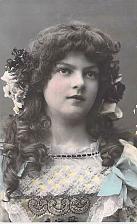 Buy Beautiful Girl In Native German Attire, Tinted Photo German Vintage Postcard
