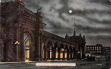 Buy Union Station, At Night, Columbus, Ohio Vintage Postcard
