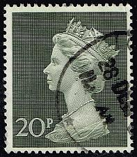 Buy Great Britain #MH166 Machin Head; Used (0.25) (2Stars) |GBRMH166-01XVA