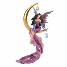 Buy *18845U - Purple Fairy On Golden Moon Figurine