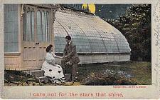 Buy I Care Not For The Stars That Shine Vintage Romance Postcard