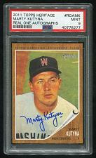Buy 2011 TOPPS HERITAGE REAL ONE AUTO MARTY KUTYNA, PSA 9 MINT (40778277)