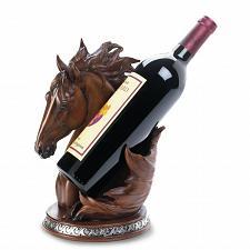 Buy *17778U - Horse Head Figure Wine Bottle Holder