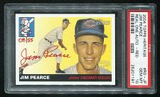 Buy 2004 TOPPS HERITAGE REAL ONE RED AUTO JIM PEARCE PSA 10 GEM MINT (25201191)